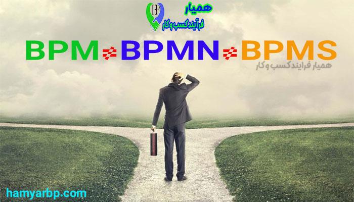تفاوت BPM و BPMN و BPMS چیست؟